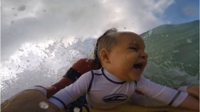 Baby's First Wave