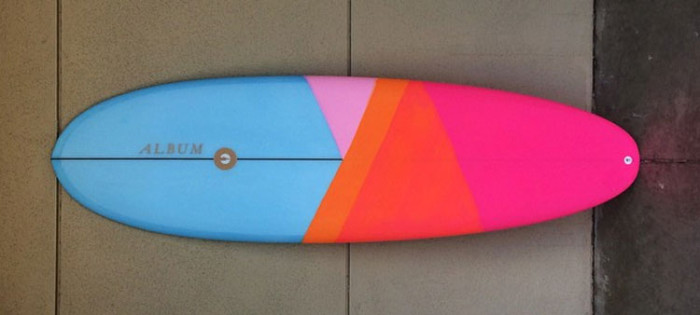 Album Darkness surfboard review
