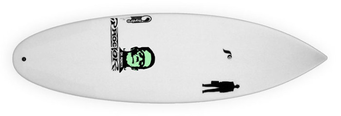 Proctor Da Monsta surfboard review