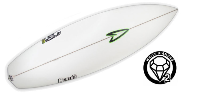 Roberts White Diamond 2 surfboard review