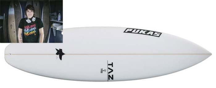 TAZ Underdog surfboard review