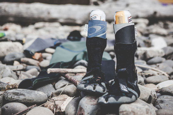 Beer koozies from wetsuits