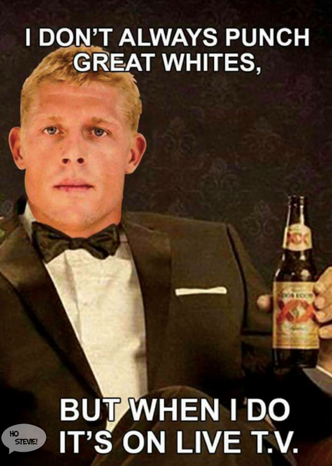 Mick Fanning is the most interesting man alive