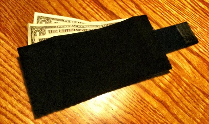 Neoprene wetsuit wallet
