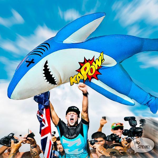 Shark on Mick Fanning