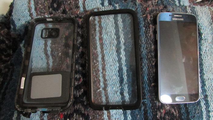 Galaxy S6 waterproof case