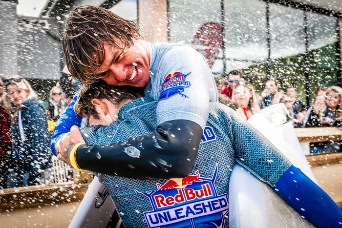 Redbull Unleashed winner, Albee Layer