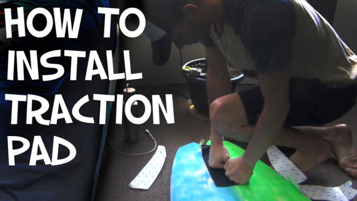 How To Install a Surfboard Traction Pad