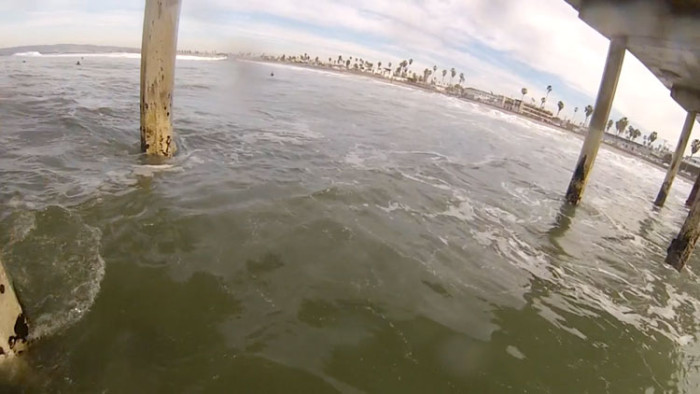 Shooting the OB Pier