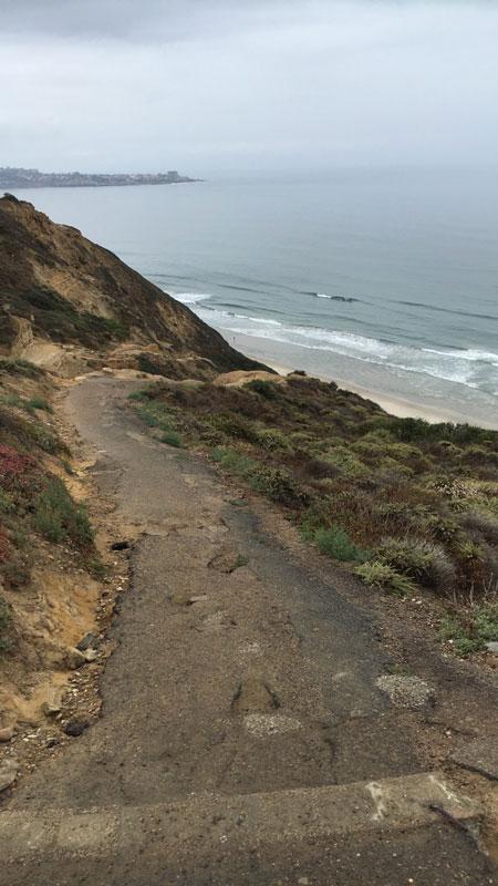 Black's Beach walk