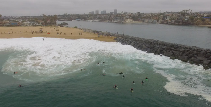 The Wedge Biggest Swell