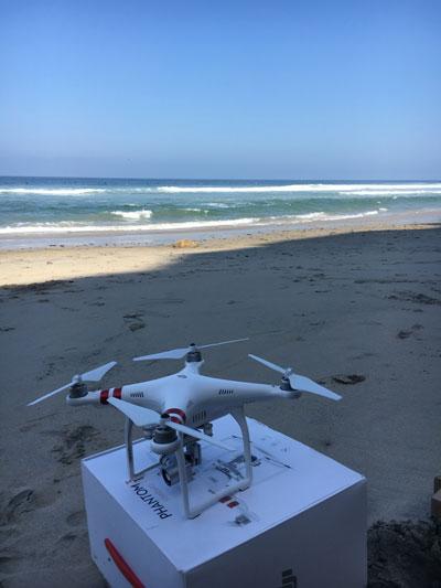 Black's Beach Drone