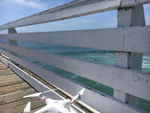PB Pier Drone