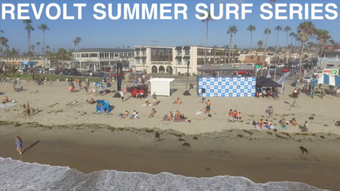 Revolt Summer Surf Series - Ocean Beach - July 16th 2016