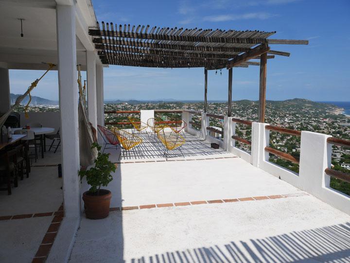Casa Mirador rooftop