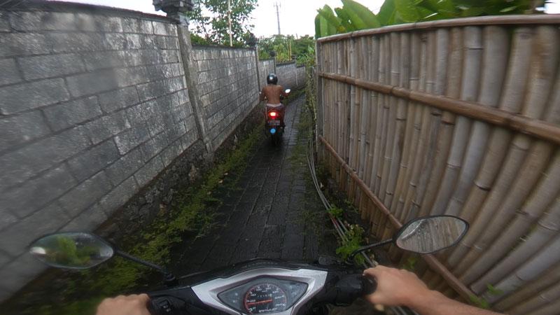 Bali moped rental