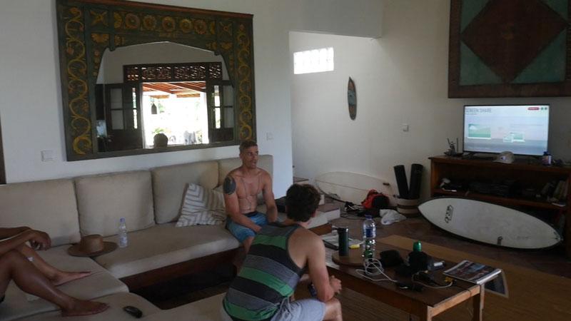 Bali Villa - living room