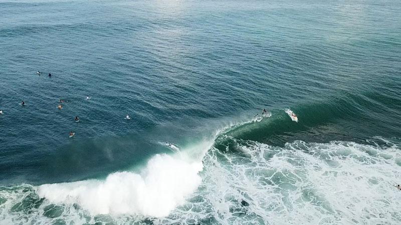 Uluwatu surf spot