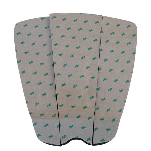 Surfboard traction pad with 3M adhesive