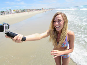 Floating GoPro Hand Grip