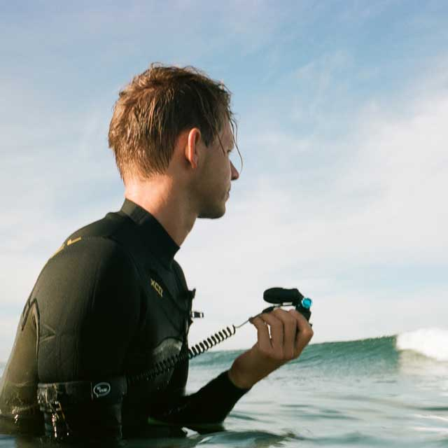 GoPro mouth mount armband leash