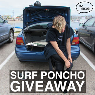 Win a Surf Poncho