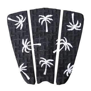 3-piece surfboard traction pad